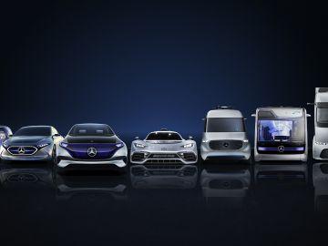 El inicio del futuro eléctrico de Mercedes