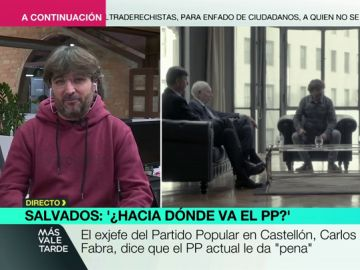 """Évole entrevista en Salvados a varios altos cargos del PP: """"Es un fracaso que no hayamos reunido a mujeres"""""""