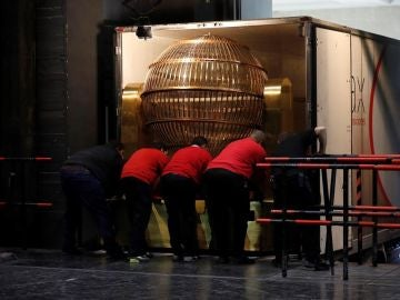Bombo de Lotería de Navidad