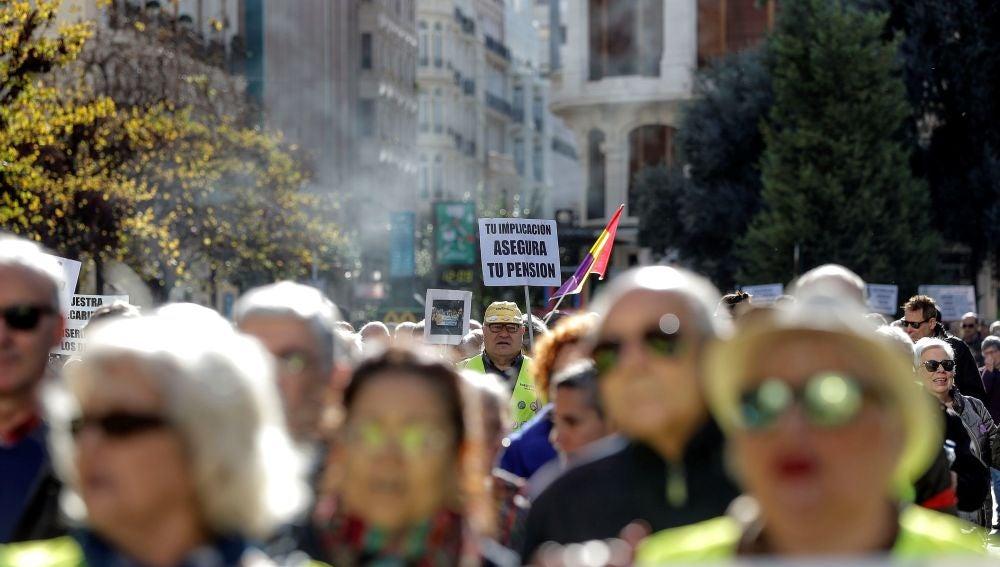 La Coordinadora valenciana en defensa del sistema público de pensiones