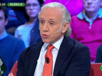 """Eduardo Inda: """"Torra busca que haya muertos en Cataluña para venderse como mártires"""""""