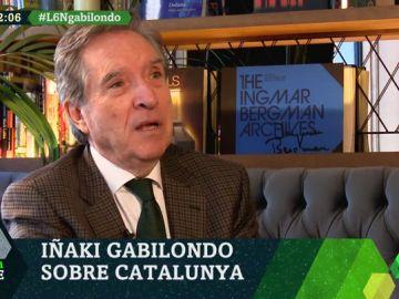 """Iñaki Gabilondo: """"Me pregunto cuál es la solución de Casado, Torra, Iglesias o Sánchez para Cataluña. Ninguno la tiene"""""""