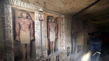 Tumba egipcia con más de 4.000 años de antigüedad