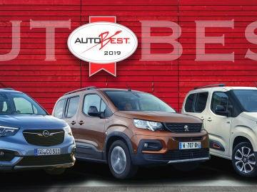 El trío Berlingo/Combo/Rifter gana el Autobest 2018