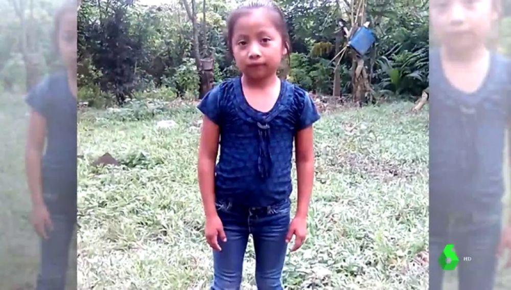 Jackeline, la menor fallecida en la caravana de migrantes