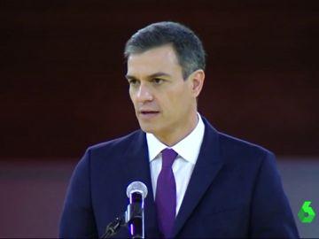 """Pedro Sánchez habla sobre la reunión con Torra: """"La cohesión la tenemos que construir entre todos"""""""