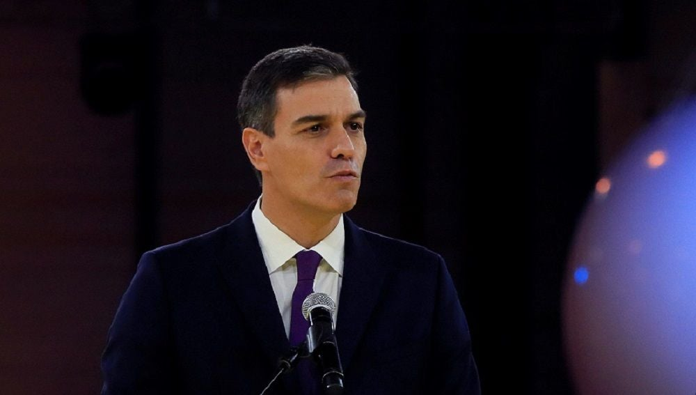 Sánchez en la celebración del octogenario aniversario de la ONCE
