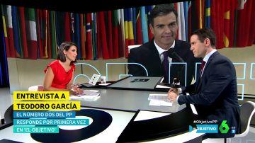 """Teodoro García Egea: """"Está en duda que el PSOE promueva el cumplimiento de la legalidad"""""""