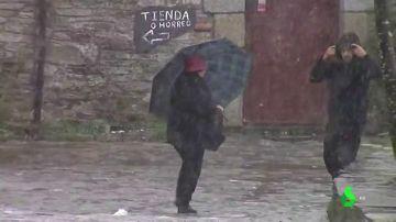 Vuelve el tiempo invernal: lluvia y descenso de las temperaturas en todo el país