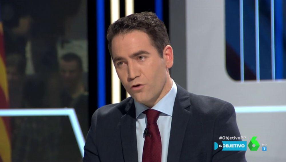 """Teodoro García Egea: """"Cataluña necesita años de paz alejada de los Rufián, los Puigdemont y los Torra"""""""