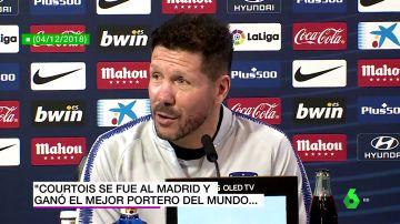 Los premios individuales, la afición, el presupuesto... los recados de Simeone al Real Madrid