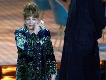 Carmen Maura tras recibir un premio honorífico en el Festival de Cine Europeo de Sevilla