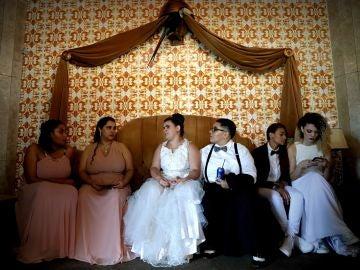 Boda masiva de parejas homosexuales en Río de Janeiro