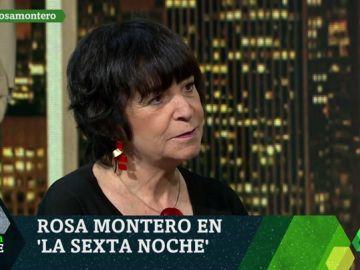 """Rosa Montero: """"Si no refundamos la democracia tenemos un futuro negrísimos donde subirán los extremismos"""""""