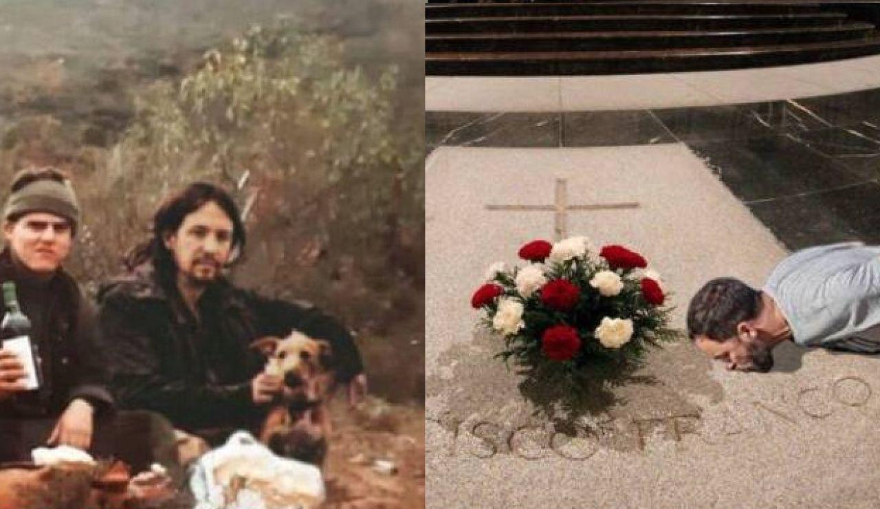 Fotografías falsas de Iglesias y Abascal