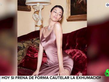 La actriz Úrsula Corberó ha encendido las redes sociales con esta fotgrafía