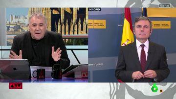 Antonio García Ferreras y Pedro Saura