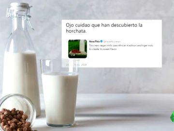"""Reino Unido vende horchata valenciana como """"leche vegana de tigre africano"""""""