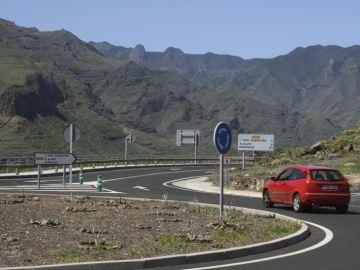 Una de las carreteras considerada como peligrosa por la RACC