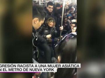 Agresión en el Metro de Nueva York