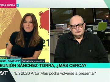 Mamen Mendizábal entrevista a Miquel González