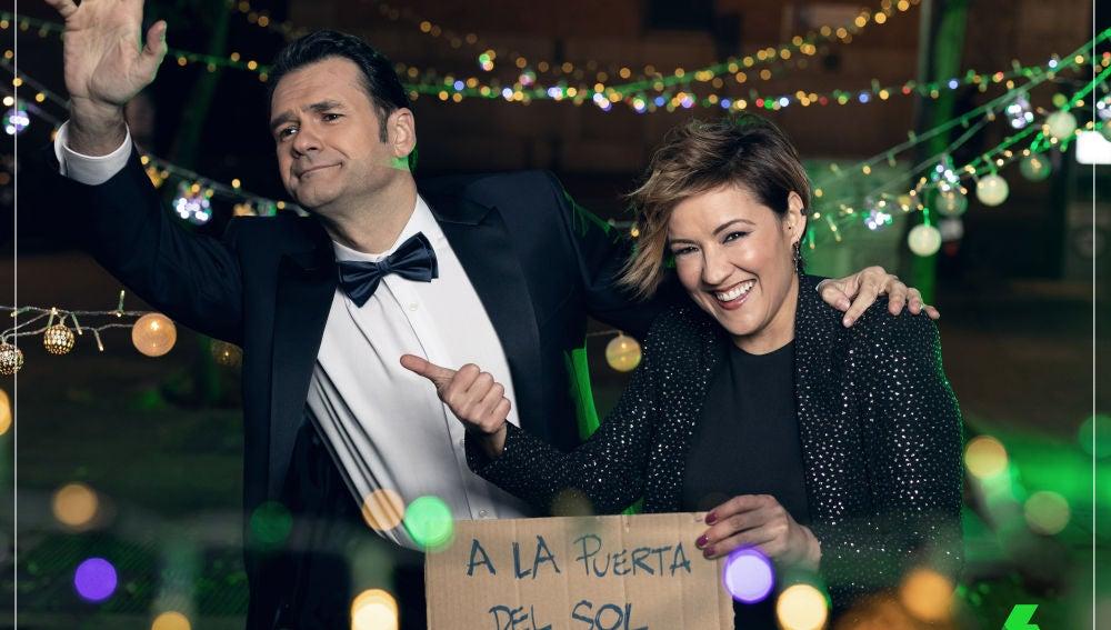 Iñaki López y Cristina Pardo darán las Campanadas 2018 en laSexta