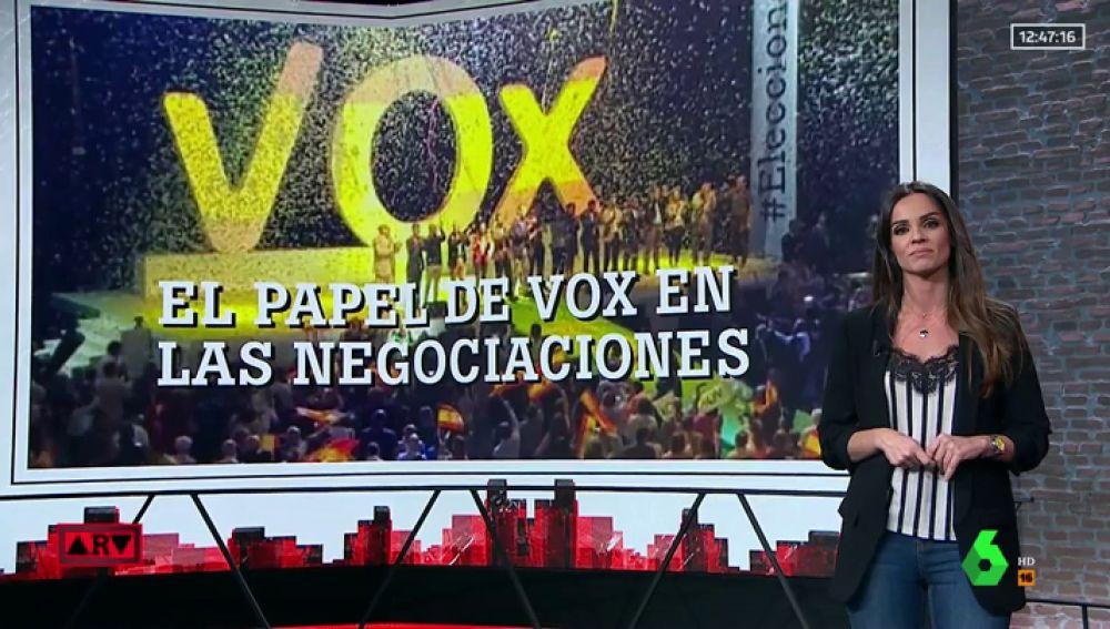 Vox reclama su sillón en las negociaciones andaluzas