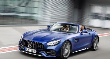 Mercedes AMG GT Roadster 2019