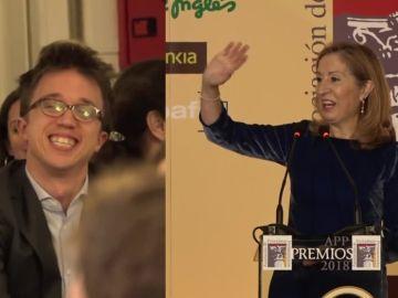 Íñigo Errejón y Ana Pastor