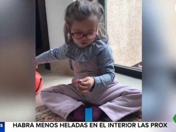 Pepita, la niña de tres años con Síndrome de Down que ha conmovido a Instagram