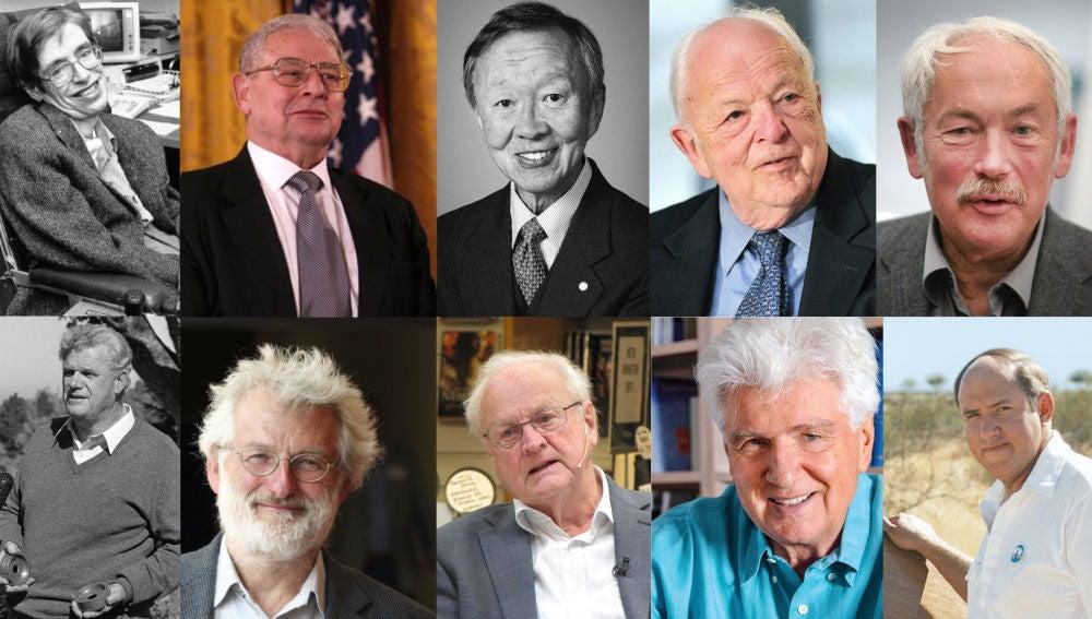 Diez grandes científicos que nos han dejado en 2018