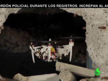 Dron de rescate plegable