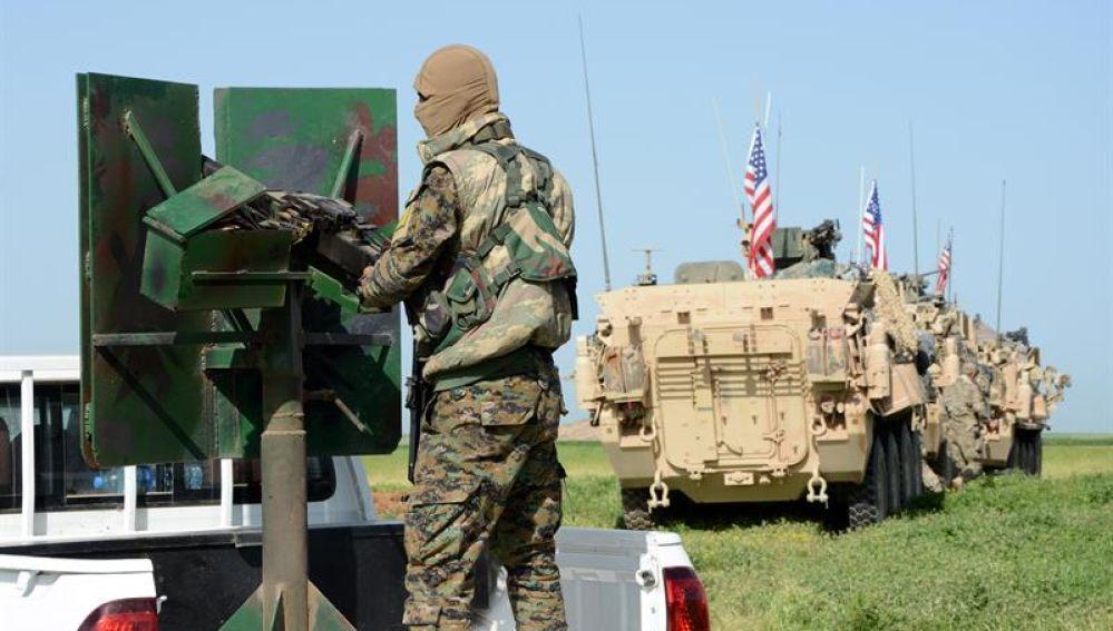 Trump quiere retirar las tropas de Siria
