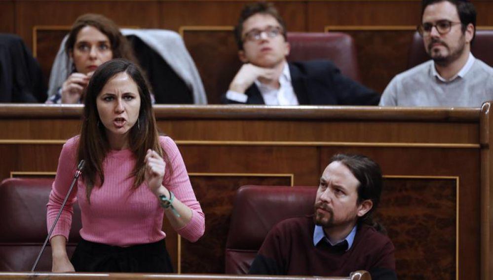 La diputada de Podemos, Ione Belarra