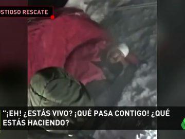 Rescatan a un ciclista español en Siberia