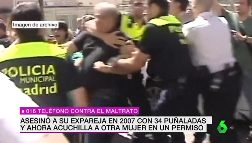 Detienen en Madrid a un condenado por matar a una mujer tras apuñalar a otra durante un permiso penitenciario