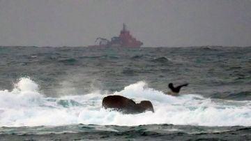 El buque de Salvamento Marítimo Don Inda