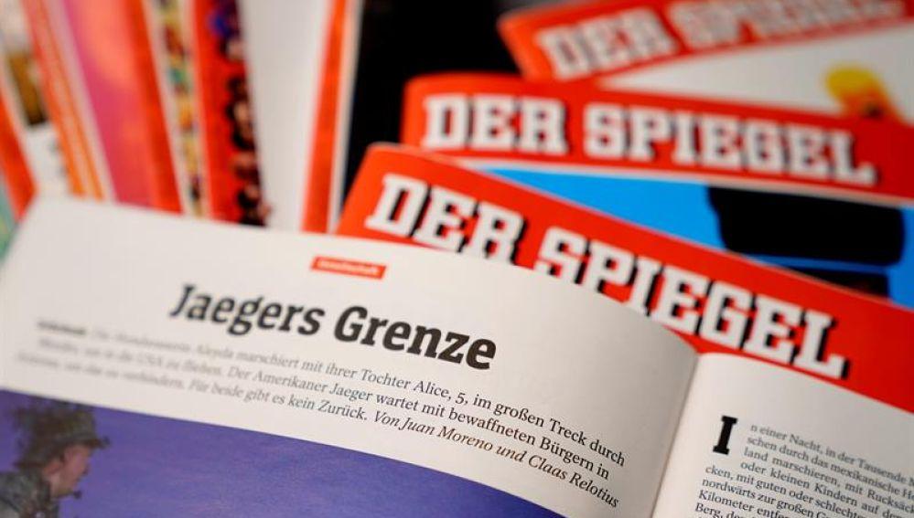 "Artículo ""Jaegers Grenze"" del Der Spiegel"