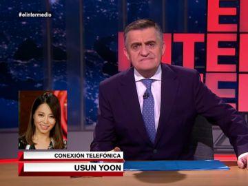 """Usun Yoon vuelve a El Intermedio con ganas de guerra: """"Llamó porque quiero mi finiquito"""""""