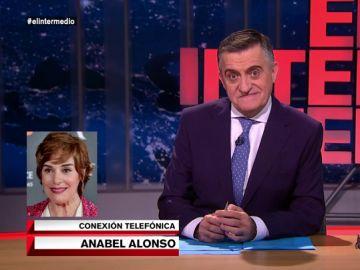 Llamada de Anabel Alonso a El Intermedio