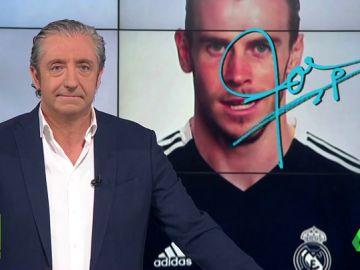 """Josep Pedrerol: """"Tantos años y Bale no sabe decir ni hola. Ni hola... ni Hala Madrid"""""""