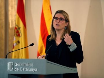 La consellera de Presidencia Elsa Artadi