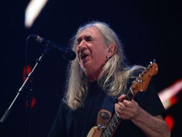 El rockero madrileño Rosendo