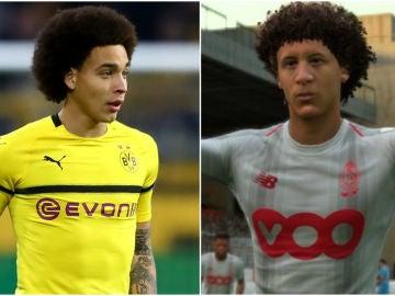 Axel Witsel en el Dortmund... y en el FIFA