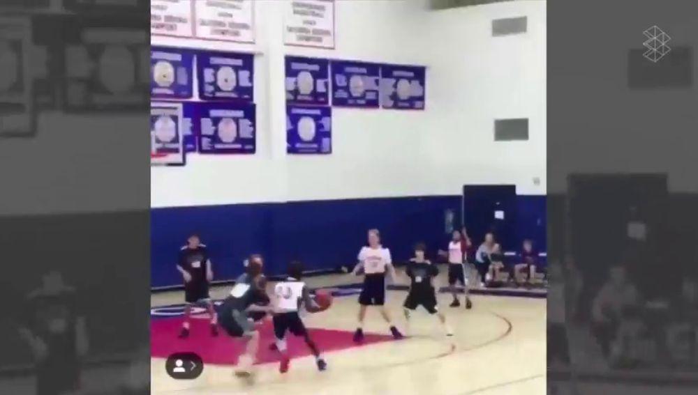 """El canastón del hijo de LeBron James que está reventando Instagram: """"Siento escalofríos"""""""