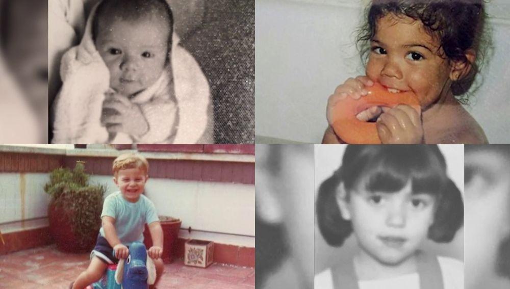 Las tiernas fotografías de los colaboradores de Arusitys de pequeños