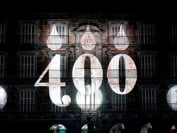Videomapping en la Plaza Mayor