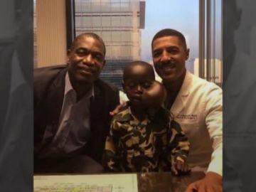 Muere el niño con un tumor en la cara al que Mutombo le pagó la operación y el vuelo a Estados Unidos