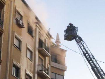 Incendio en la Ronda de Garay, Murcia