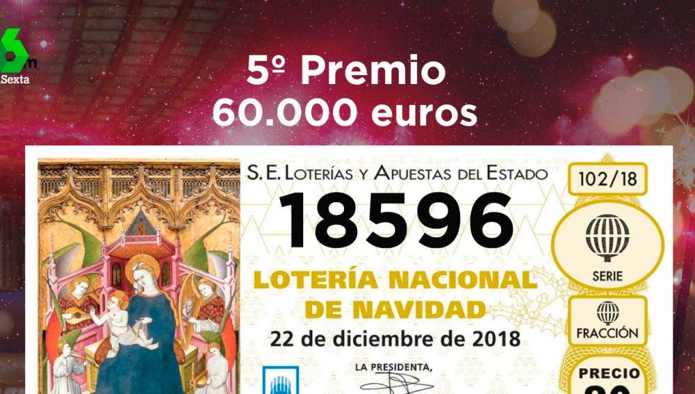 Séptimo quinto premio de la Lotería de Navidad 2018